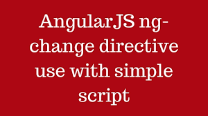 directive in angular