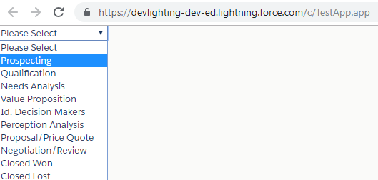 How to dynamically bind picklist value in Lightning