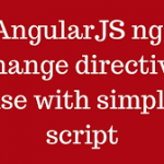 ng-change directive in Angular Js