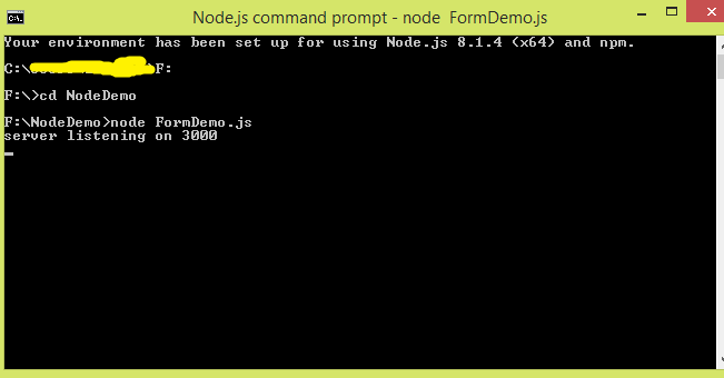 Forms in Node.js