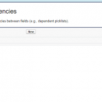 Field Dependencies in Salesforce